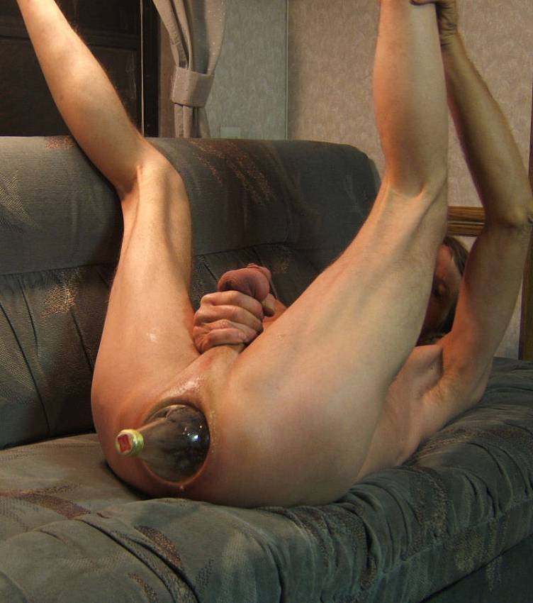 Anal fun solo male good